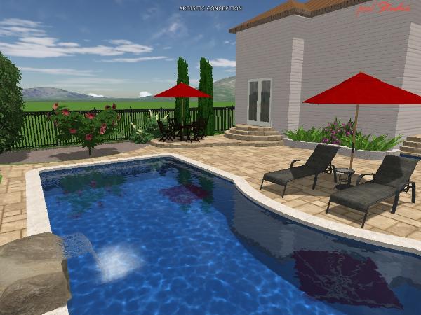 3d design ottawa pool and patio ltd for Pool design ottawa