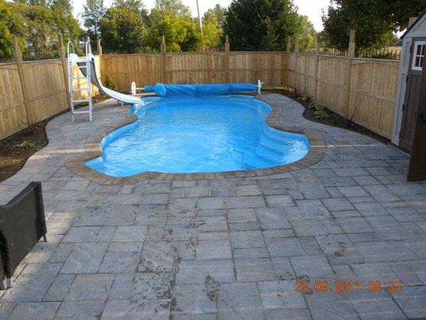 Fiberglass pools for Pool design ottawa