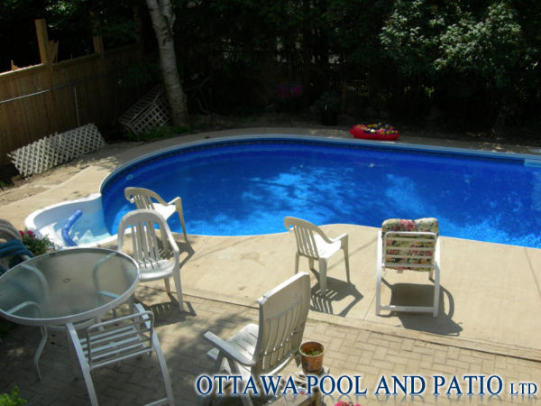 Inground vinyl liner pools for Installing pool liner in cold weather