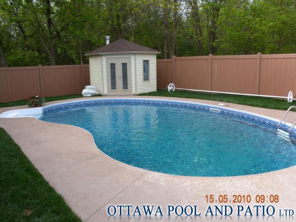Inground vinyl liner pools for Vinyl inground pool